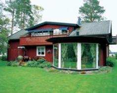 innglassert terrasse